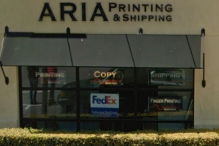 Aria Printing Coupon