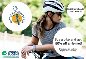 Bicycle Way of Life Coupon