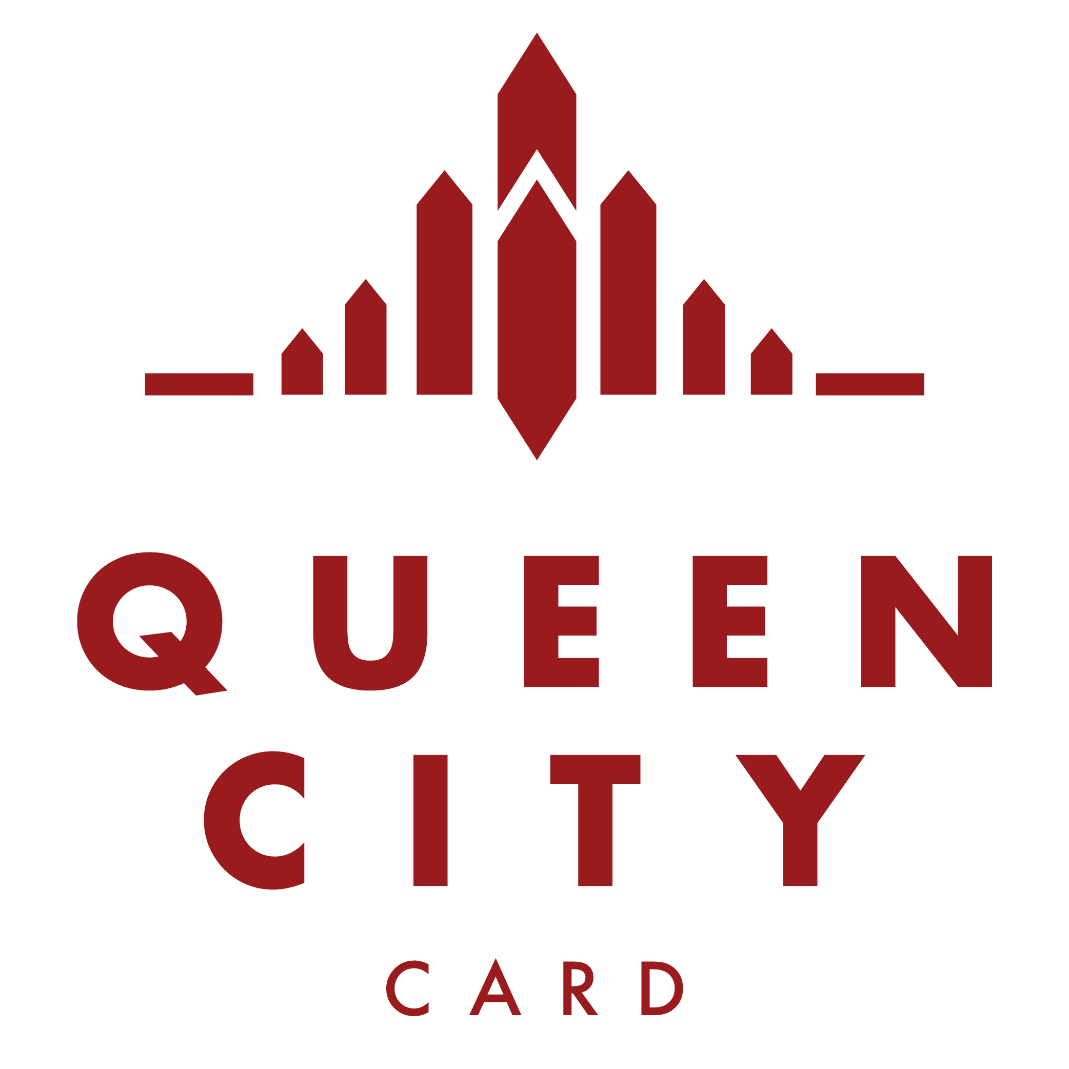 Queen City Card logo