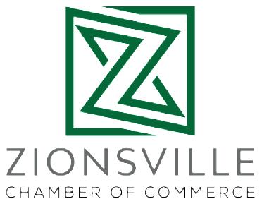 Zionsville Chamber Shop Local Card logo