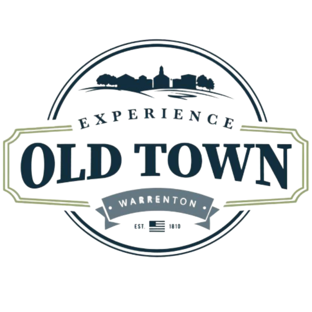 Old Town Warrenton Card logo