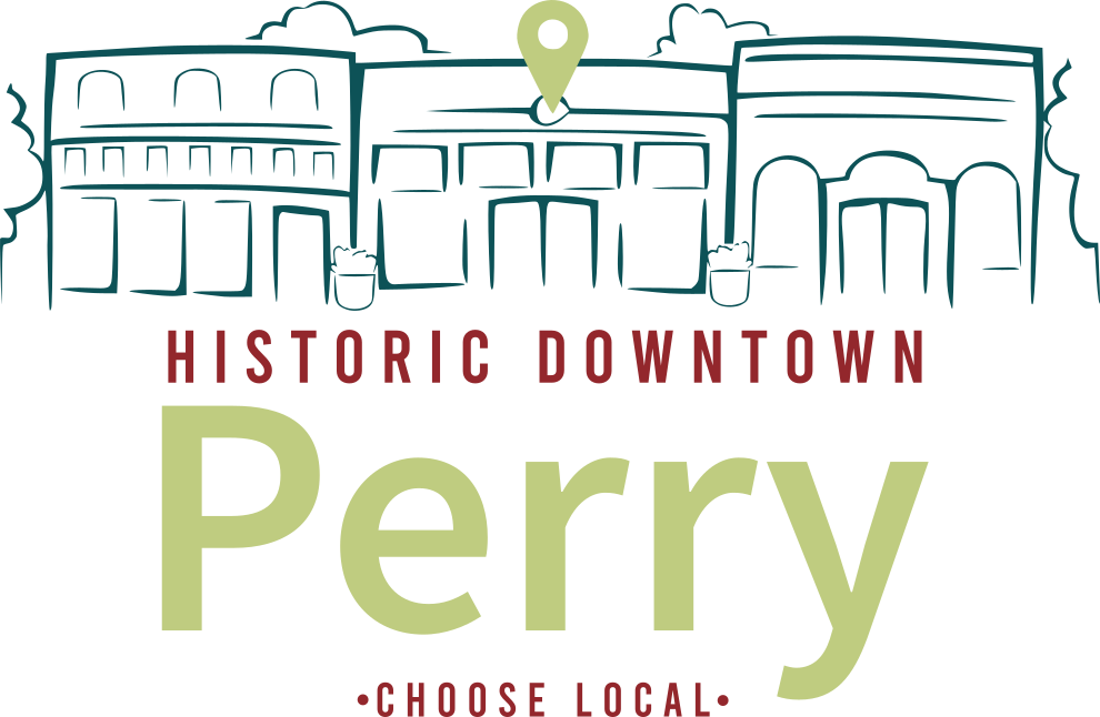 Shop Downtown Perry logo