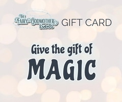 A gift card image from The Fairy Godmother Events