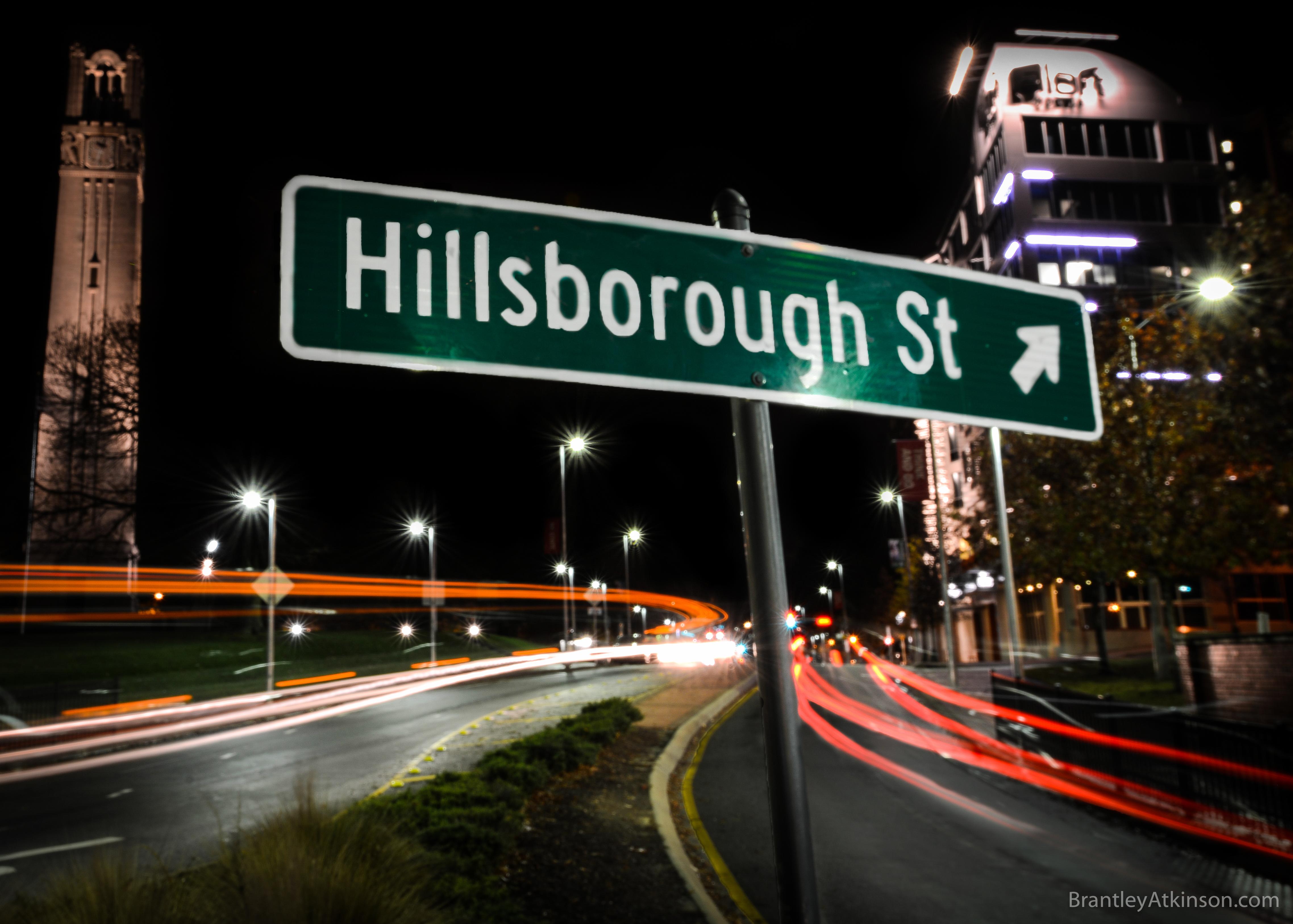 Hillsborough Street - Raleigh, NC Digital Gift