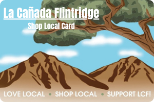 La Canada Flintridge Shop Local Card Digital Gift