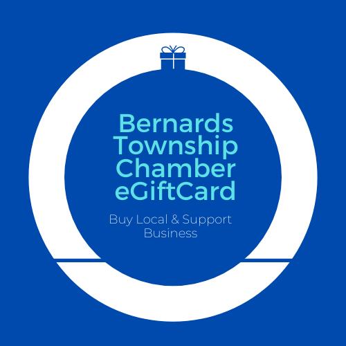 Bernards Township Regional Chamber eGift Card logo