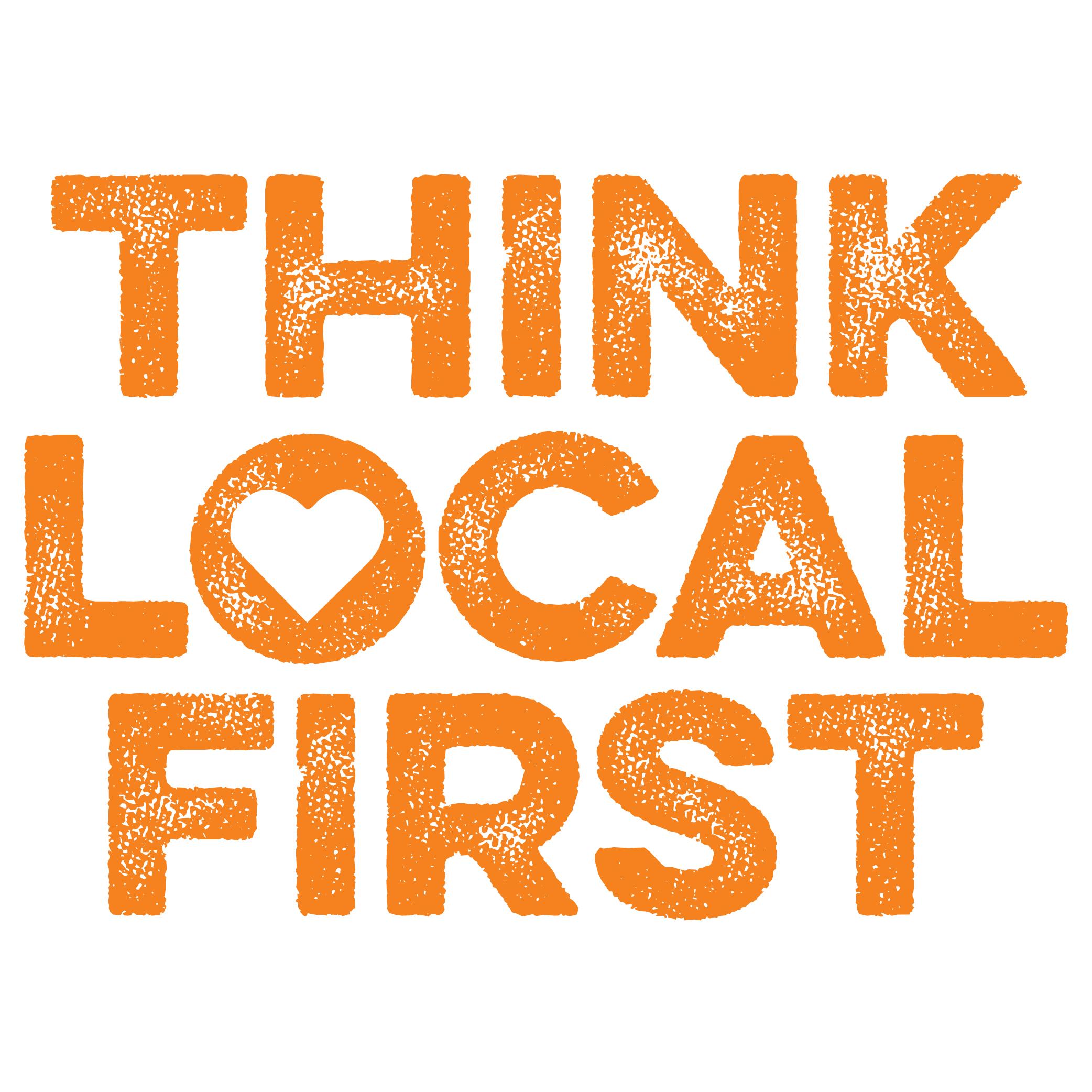 Whatcom Think Local First logo