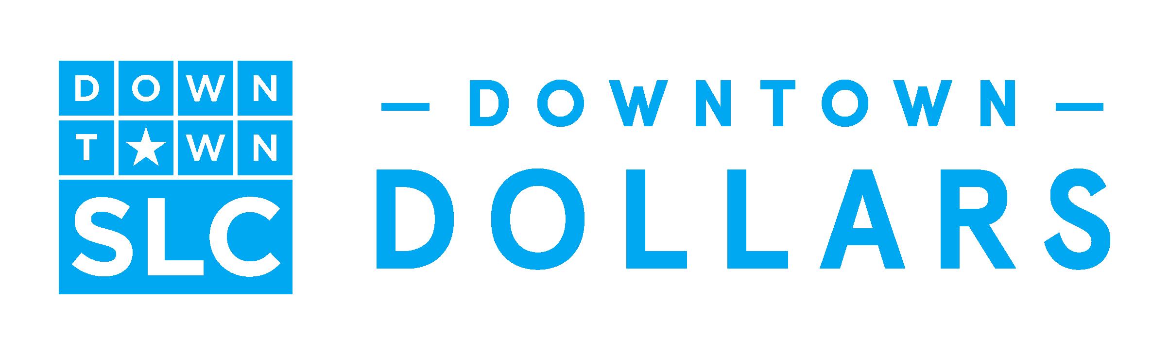 SLC Downtown Dollars logo