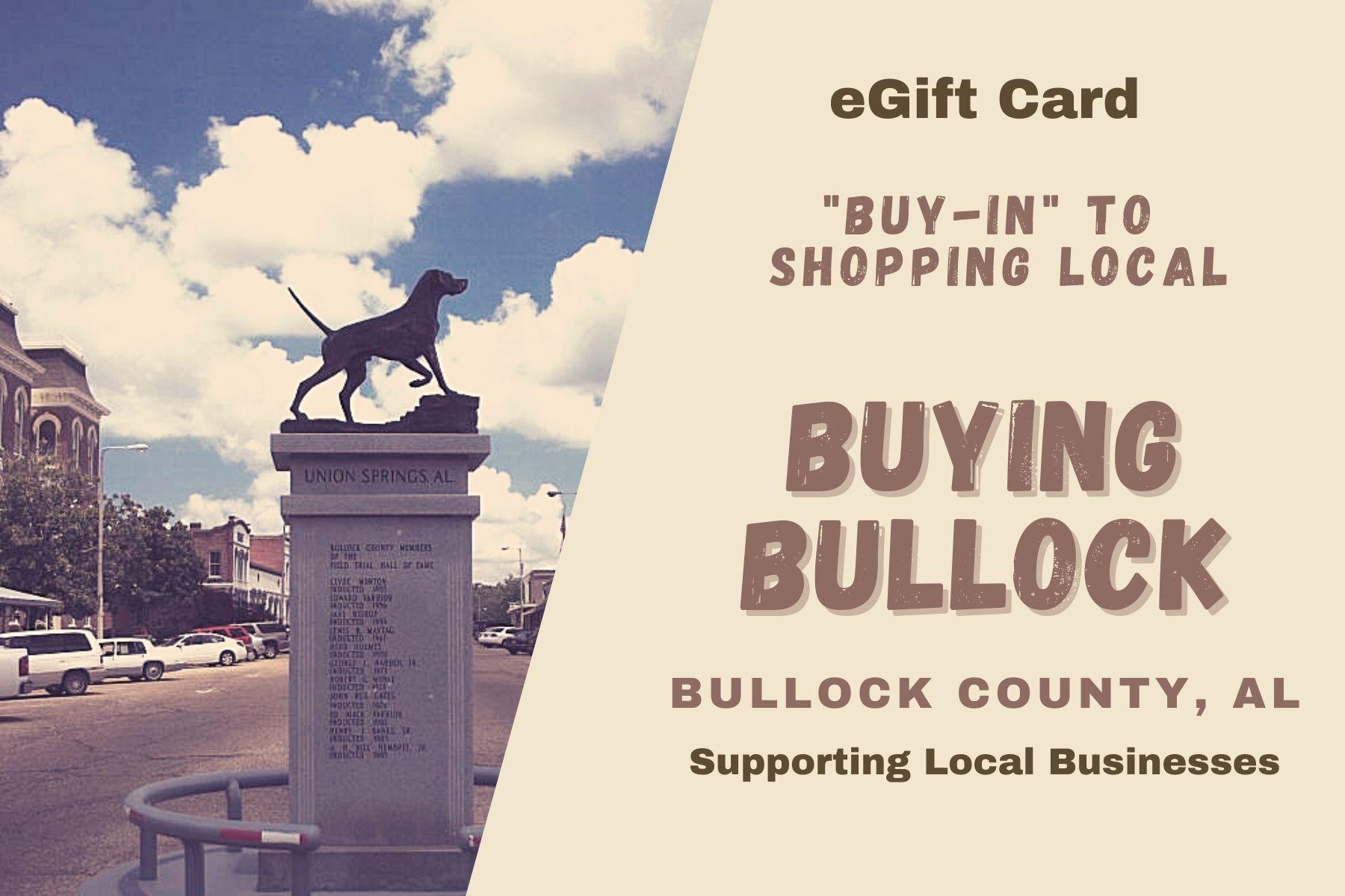 Buying Bullock Digital Gift