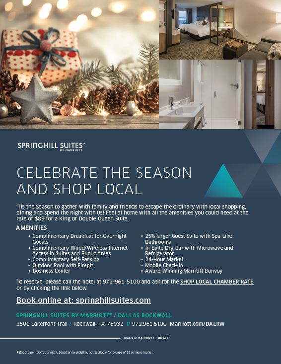 Springhill Suites by Marriott Dallas Rockwall Coupon