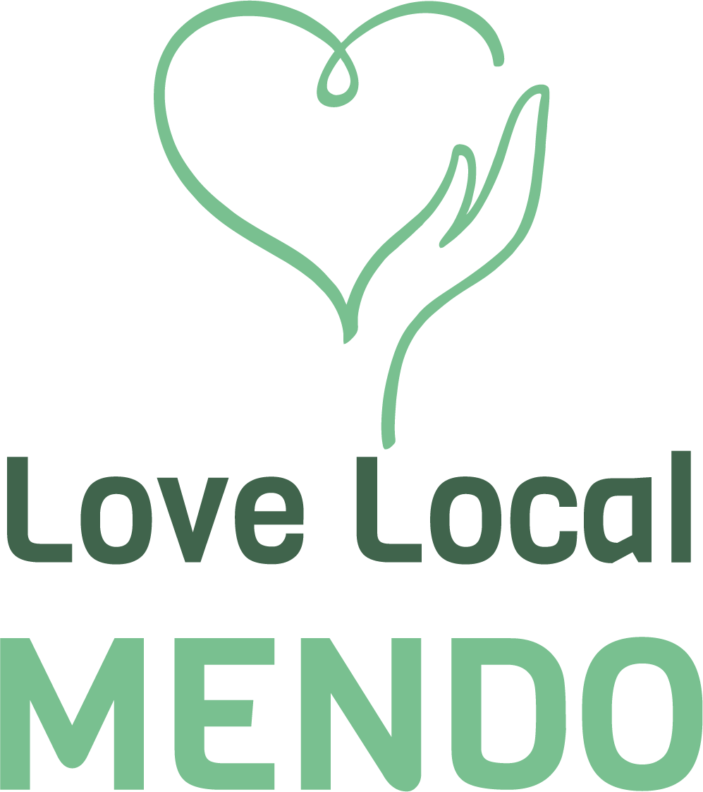 Love Local Mendo logo