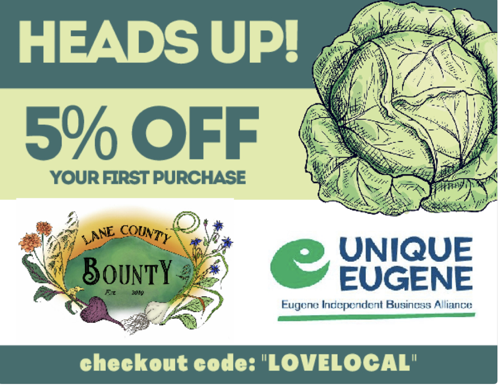 Lane County Bounty Coupon
