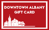 Downtown Albany Gift Card Digital Gift