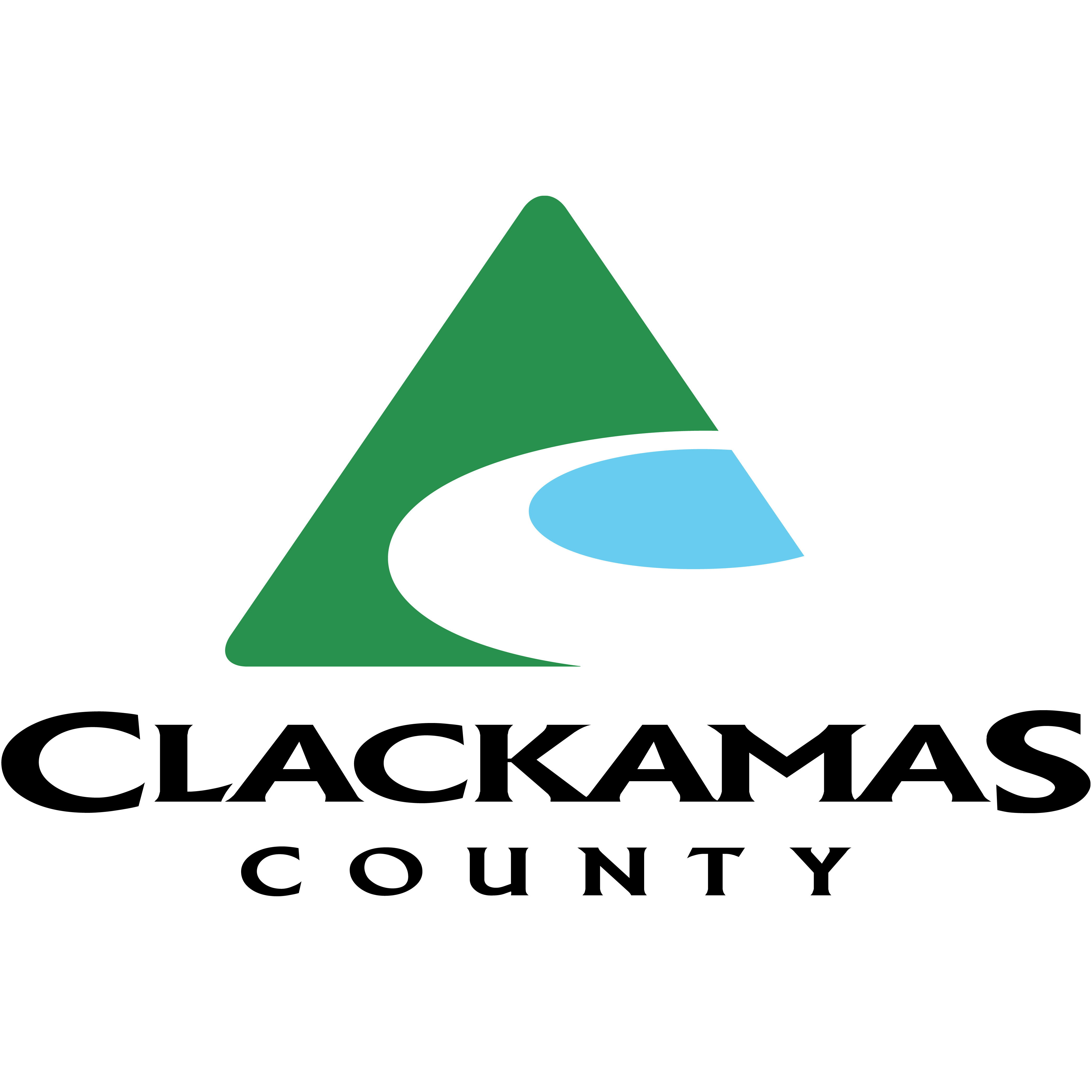 Clackamas County Ice Storm Cleanup Voucher logo