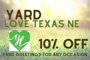 Yard Love Texas NE, LLC Coupon