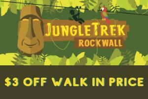 JungleTrek Rockwall Coupon