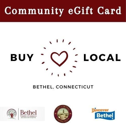 Buy Local Community eGift Card - Bethel, CT Digital Gift