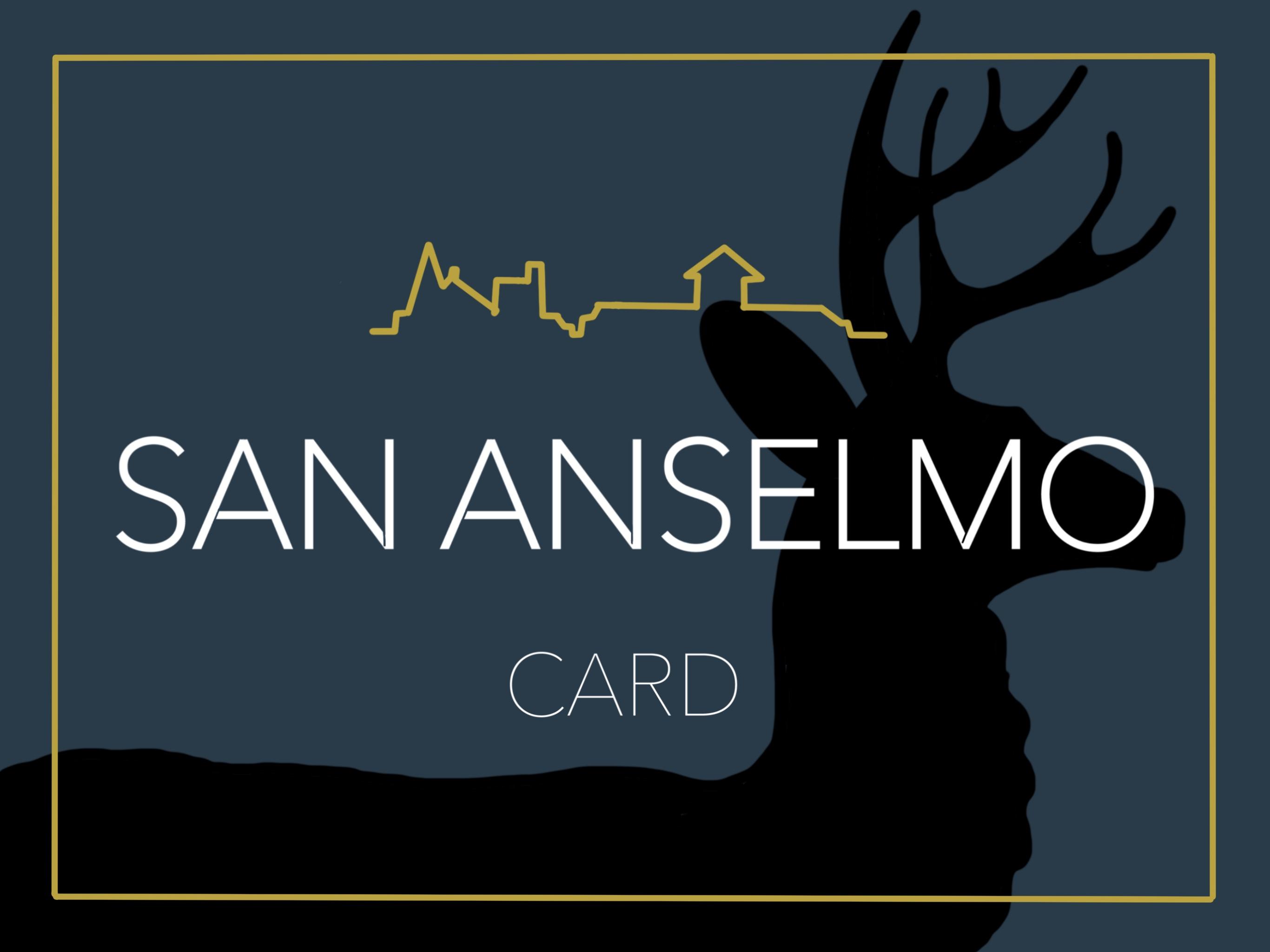 San Anselmo Card Digital Gift