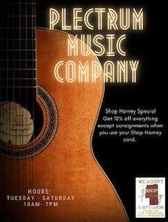 The Plectrum Music Company Coupon
