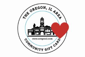 Oregon IL Area Community Gift Card Digital Gift