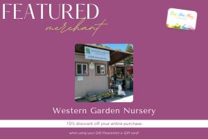 Western Garden Nursery Coupon