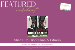 Shape UP! Boot Camps & Fitness Coupon